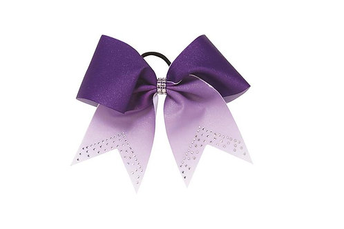 Pizzazz HB770 Glitter Fade with Rhinestones Hair Bow