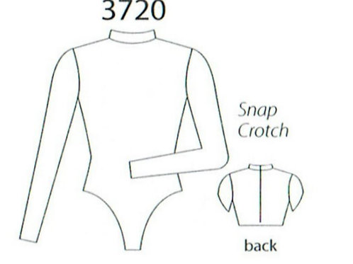 copy of MW3719 Strappy Front V-Back Top