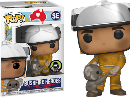 Funko and Popcultcha teaming up to Fight Brushfires with Exclusive Heartwarming Pop