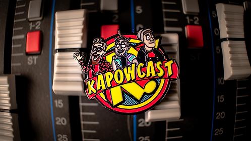 Kapowcast Cartoon Enamel Pin