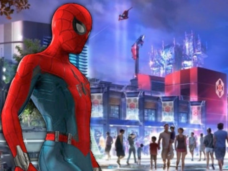 See Spider-man like never before this summer at Disney land