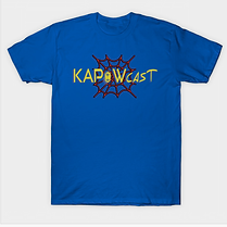 kapowcast spiderman tshirt.png
