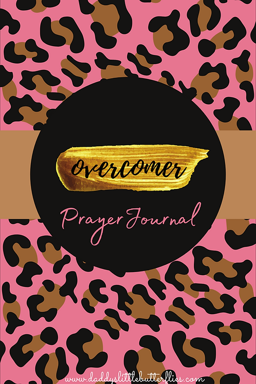 Overcomer Prayer Journal pdf print