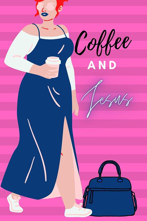 coffee and Jesus phone wallpaper design4
