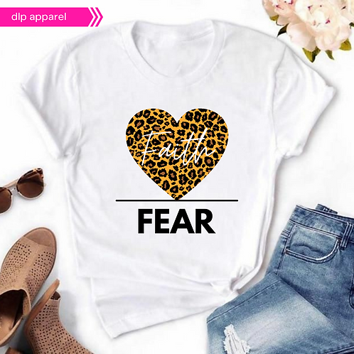 Faith over Fear Design