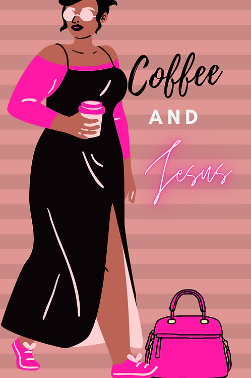coffee and Jesus phone wallpaper design2