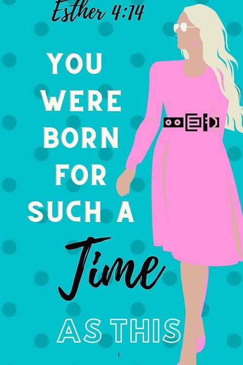 You were born phone wallpaper