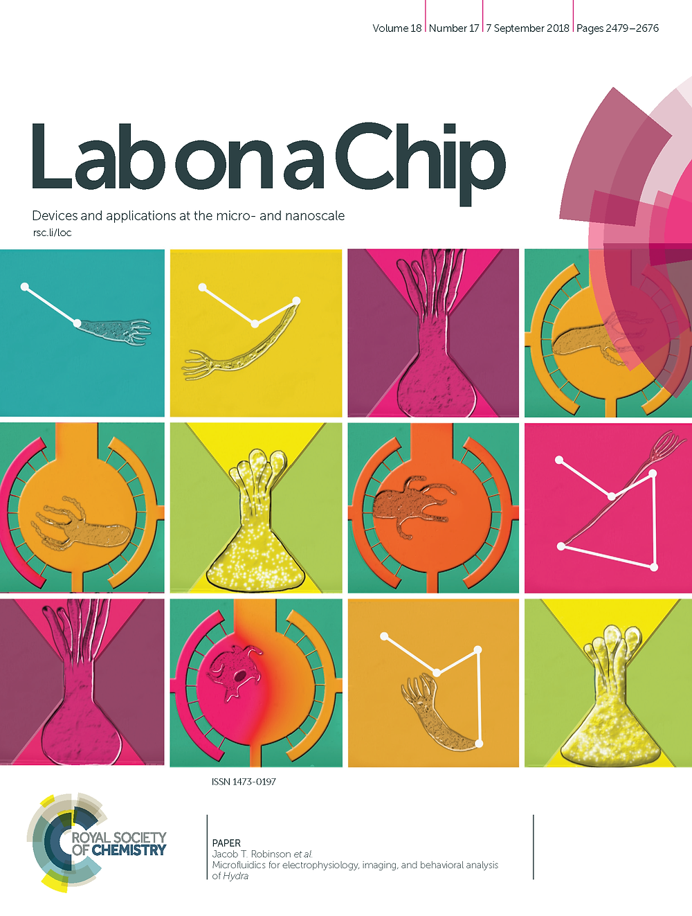 2018 Lab on a Chip Issue 18
