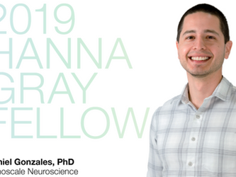 Daniel Gonzales wins Hanna Gray Fellowship from HHMI