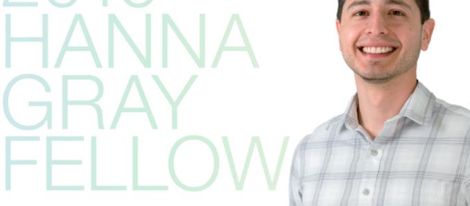 Daniel Gonzales wins Hanna Gray Fellowship from HHMI