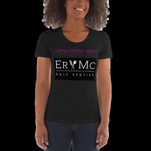 Women's Crew Neck T-shirt- Hip Flexer