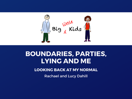 Boundaries, Parties, Lying and Me