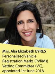 Mrs. Alia Elizabeth Eyres