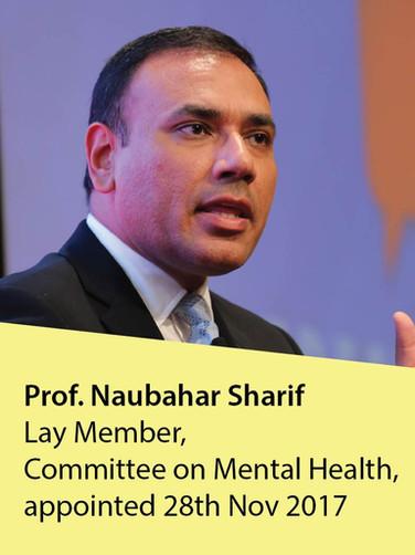 Prof. Naubahar Sharif