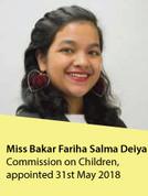 Ms. Bakar Fariha Salma Deiya