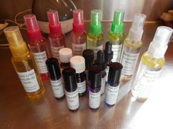 oils and sprays