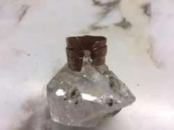 copper fold formed ring