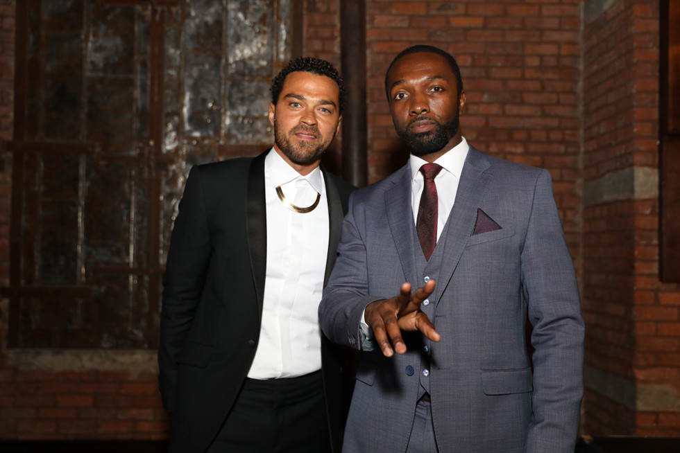 Jamie Hector & Jesse Williams