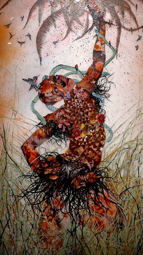 Wangechi Mutu's Afrofuturist Art