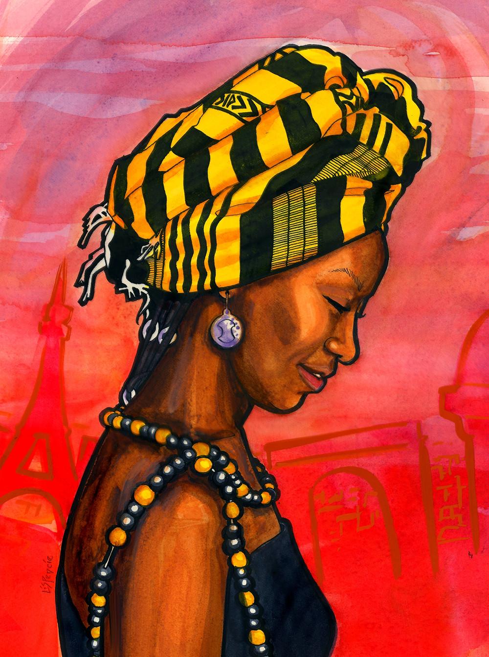 Fatoumata Diawara, Diriye Osman