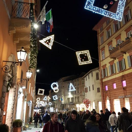 Natal nas ruas