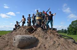 Latvia volcano group