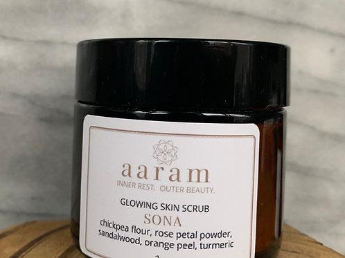 SONA - glowing skin scrub