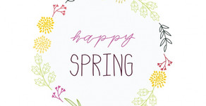 Happy First Spring Day!