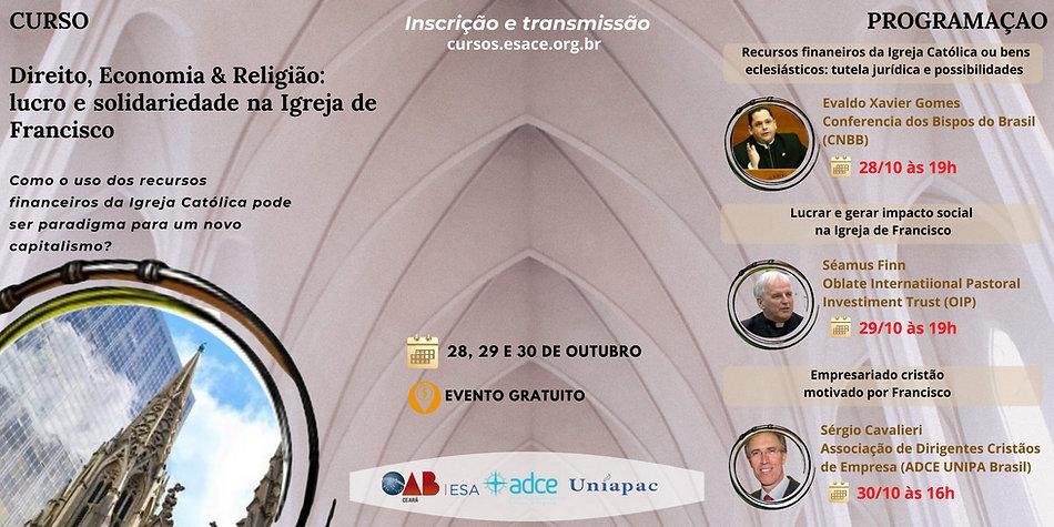 CURSO Direito, Economia & Religião lucro e solidariedade na Igreja de Francisco.jpg