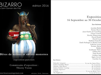 Exposition-parcours Bizarro à St-Germain