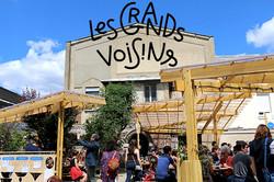 Atelier partagé aux Grands Voisins - 2018