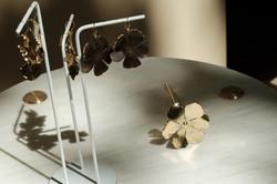 Collection Hibiscus - laiton doré et lai