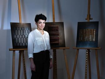 Angélique Chesnesec, triplement récompensée par l'INMA, le Rotary Club de Paris et le Prix Mathias