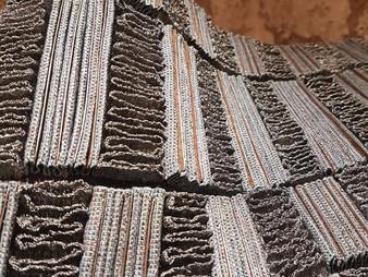 Les textiles métalliques d'Angélique Chesnesec exposés à la Mu Gallery