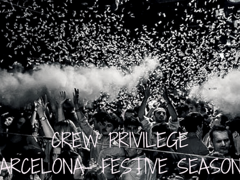 #FESTIVESEASON IN BARCELONA