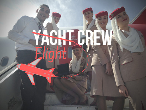 Yacht Crew to Flight Crew