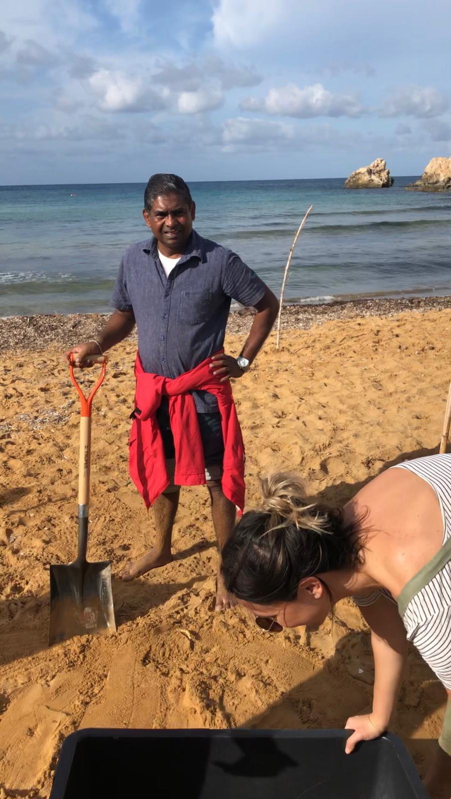 Malta Crew Clean up