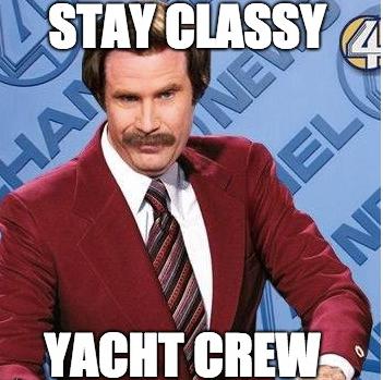 Stay Classy Yachties