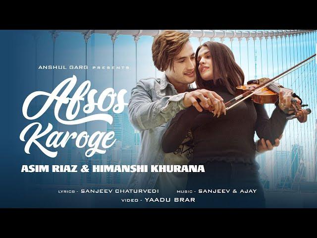 Afsos Karoge song poster