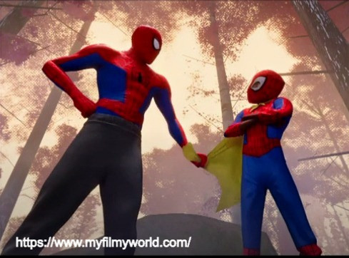 Spiderman: Into the Spider-Verse – 2018 netflix movie image