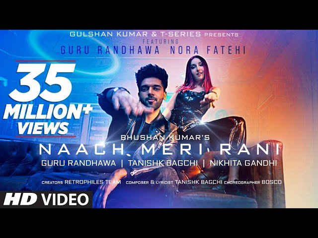 Naach Meri Rani song poster