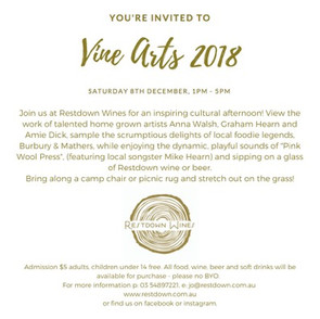 Vine Arts 2018 - Restdown Wines