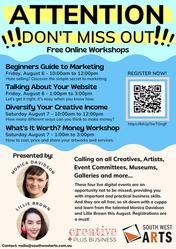 Free Workshops...
