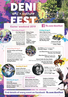 DENI arts and culture FEST, Easter weekend 2019