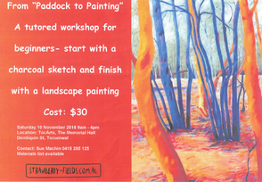Paddock To Painting - Tocumwal