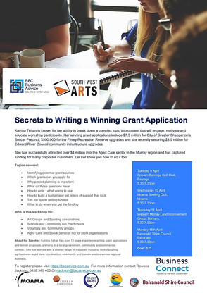 Secrets to Writing a Winning Grant Application.