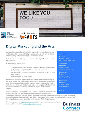 Digital Marketing and the Arts...