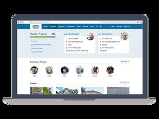 eMoney_ClientSite_NewOrganizer_onlaptop.