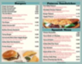 Margate Burger & Food Truck - Menu 2