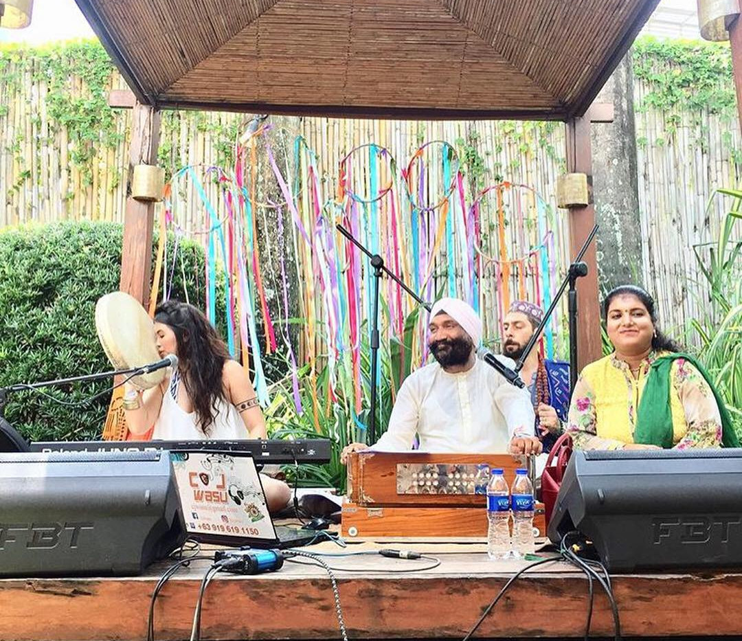 Performance at Global Mala Festival
